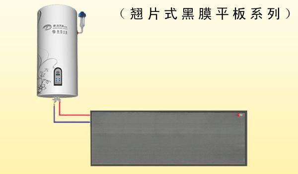 翘片式 平板壁挂太阳能
