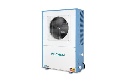 家用空气能地暖热水机