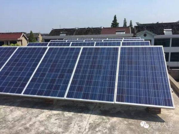 廊坊永清同源建材太阳能发电